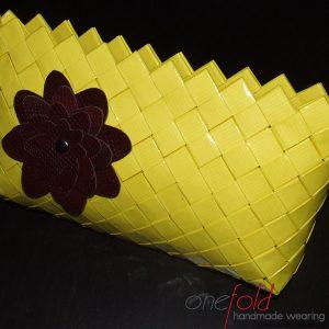 Geanta cu floare din piele ecologica fld