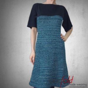 rochie degrade albastru