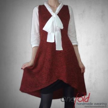 rochie scurta sau pulover lung